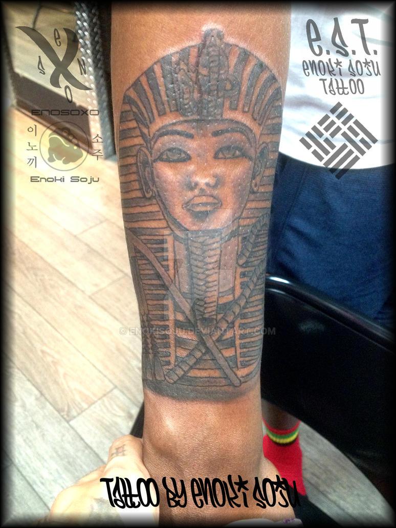 King Tut Tattoo Sleeve 15726 Usbdata