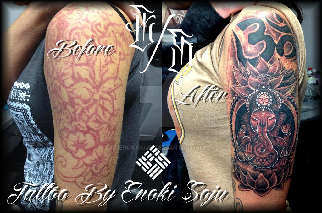 Full Sleeve Flower Tattoo Designs