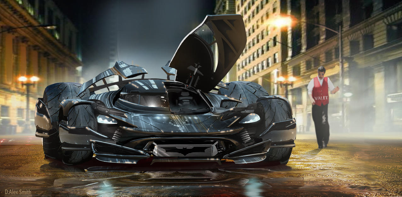 BatMobile P1 by SpeedBear