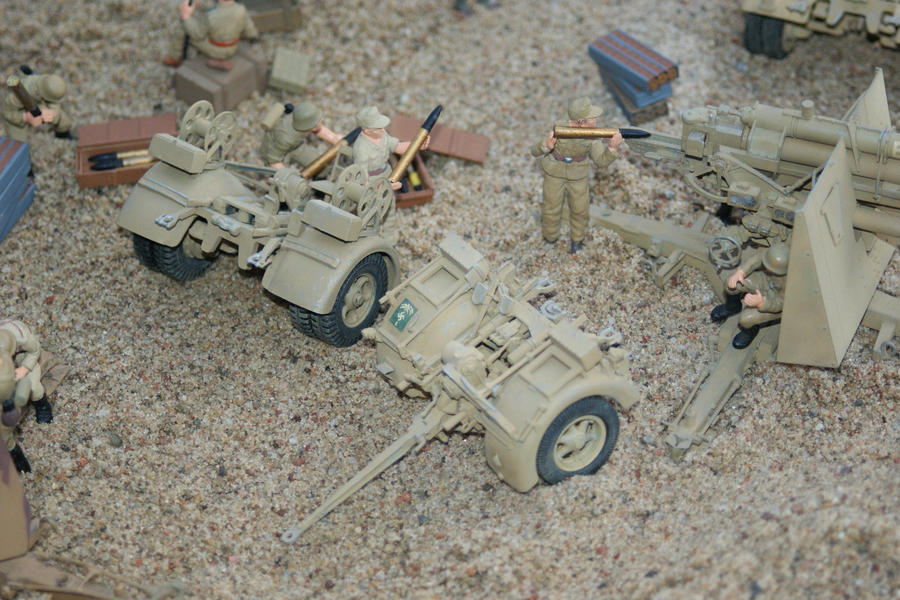 Afrikakorps Flak Nets by SPIDIvonMARDER