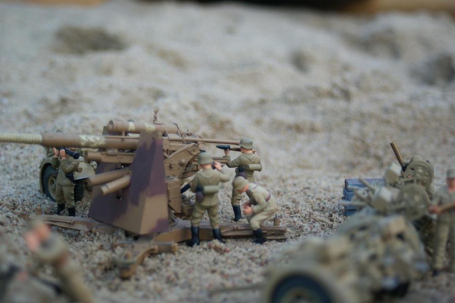 Afrikakorps Flak Nets 2 by SPIDIvonMARDER