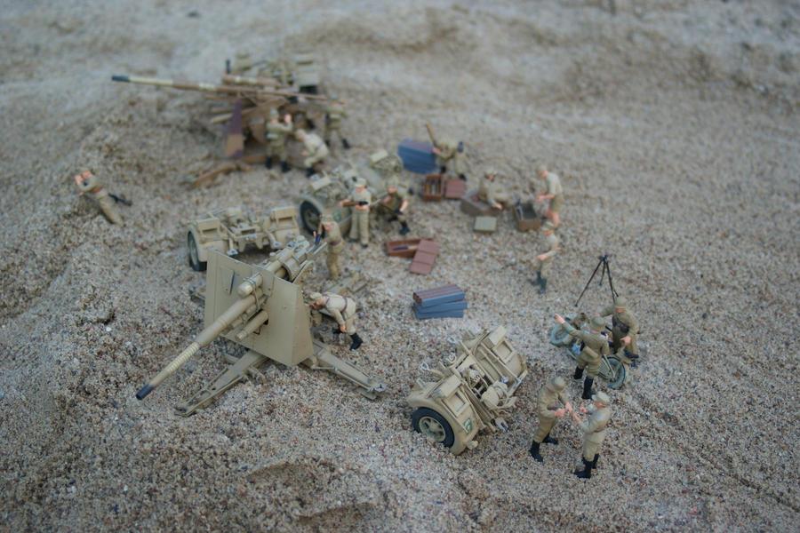 Afrikakorps Flak Nets 4 by SPIDIvonMARDER