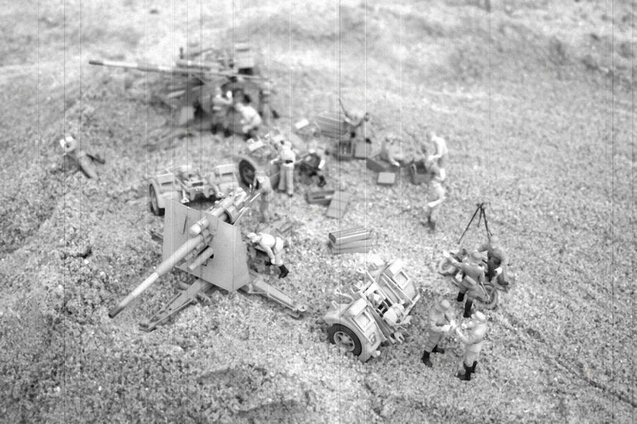 Afrikakorps Flak Nets  7 by SPIDIvonMARDER