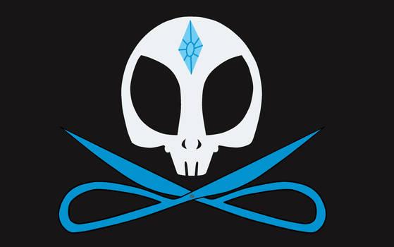 Rarity's Jolly Roger