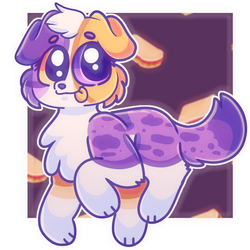Peanut butter and Jelly doggo!|gift