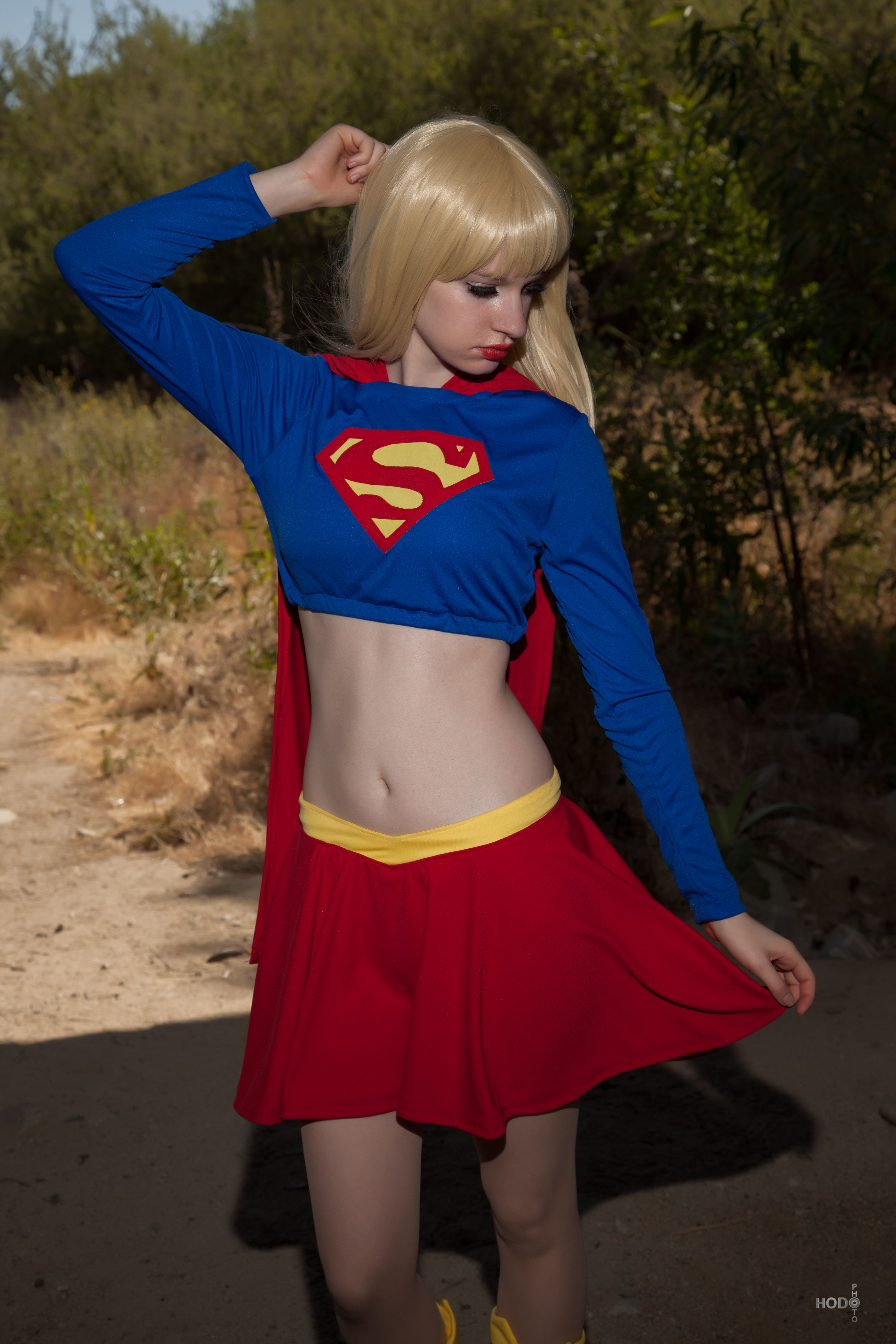 Supergirl: JLU 2 by AliceInTheTARDIS