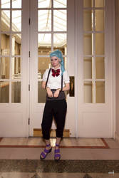 Death Parade Nona 7 by AliceInTheTARDIS