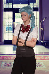 Death Parade Nona 8 by AliceInTheTARDIS
