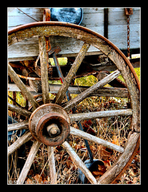 Old Wagon Wheel by Tao2Eden