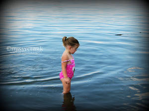 Mia In the Water