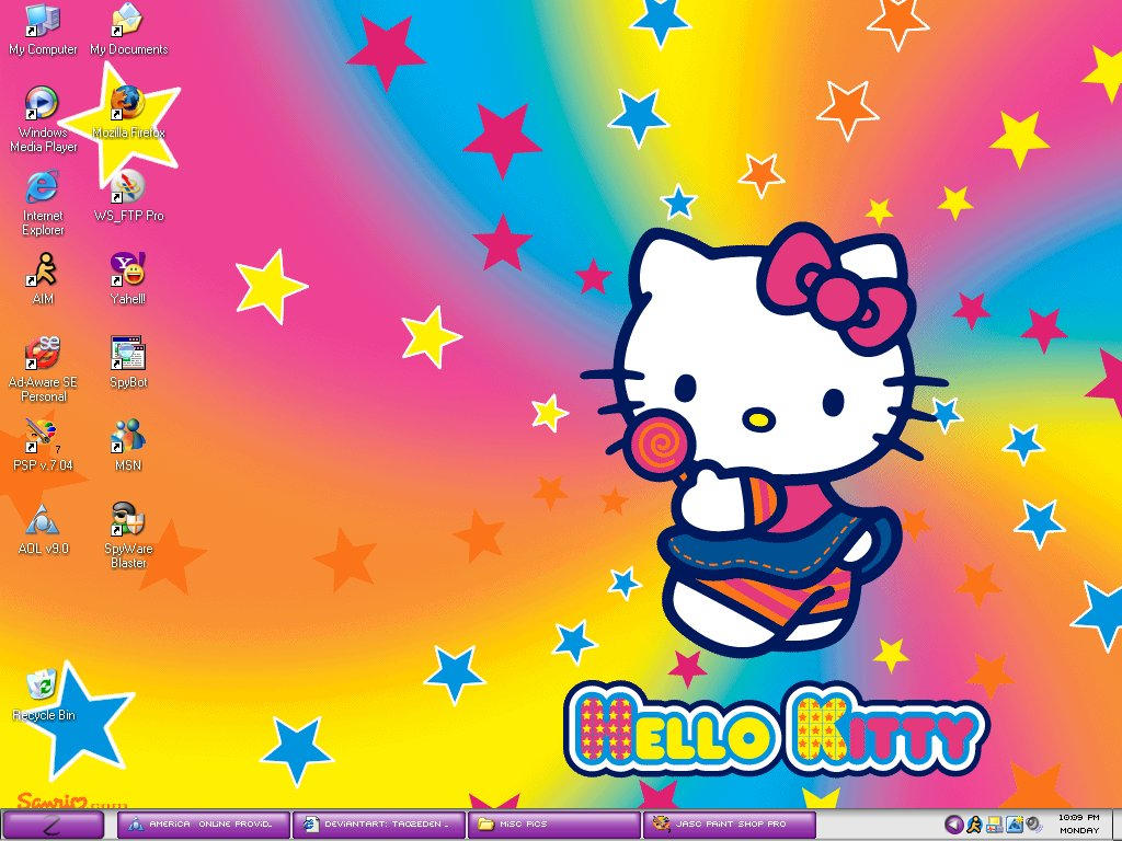 Free Hello Kitty Wallpapers For Computer Cave Desktop Background