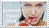 I Support Team Jolie Stamp by Tao2Eden