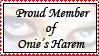 Onie's Harem Stamp by Tao2Eden