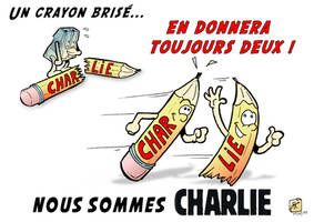 Je suis CHARLIE HEBDO by romther