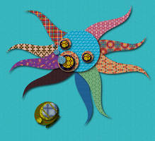 Paper Octo by Preed-Reve