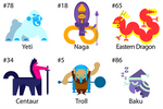 100 Creature Challenge 6