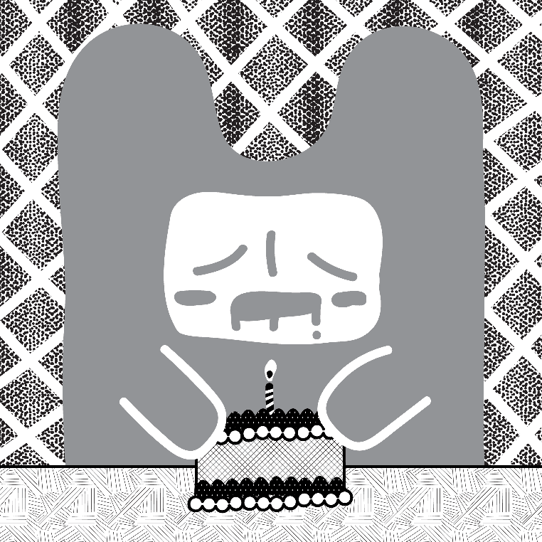 Inktober2018 Vectorized: Day 6 - Drooling by Preed-Reve