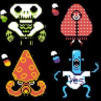 4-Color Sprites