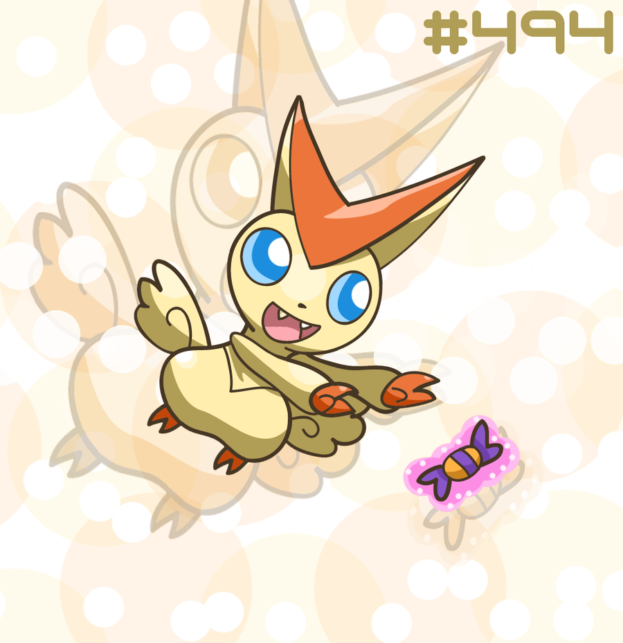 Victini by MizterSiah