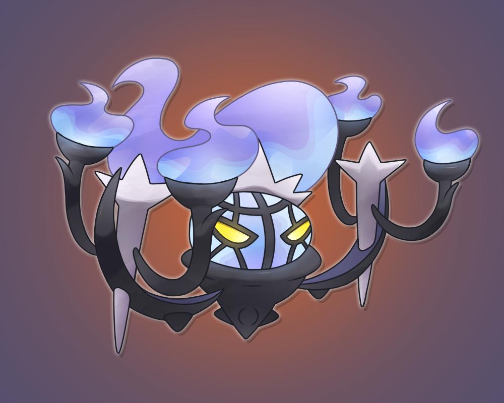 Mega Chandelure by MizterSiah