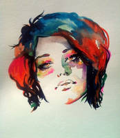 WatercolorGrrrrrl by Contrapposto