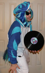 DJ-PON 3/Vinyl Scratch: Get Down Tonite! by sethbramwell