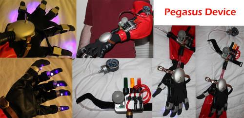 Pegasus Device Collage