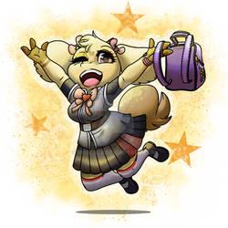 School Girl Mimi