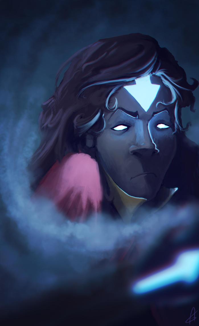 Diana Avatar State by Zeich