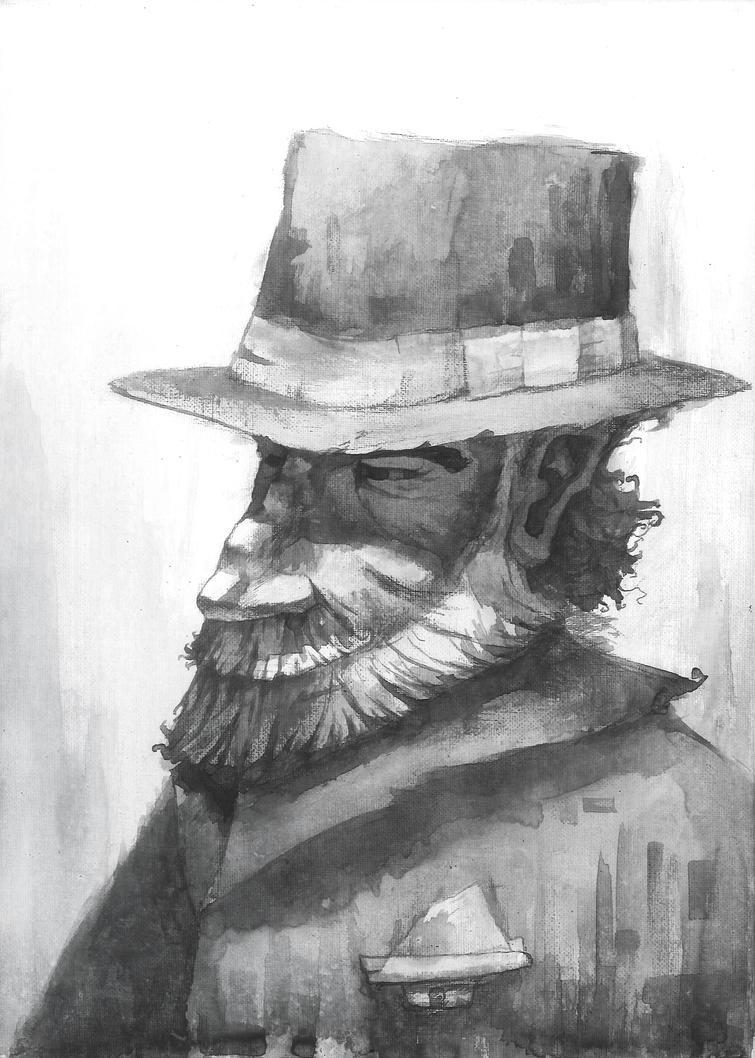 Old Man by Zeich