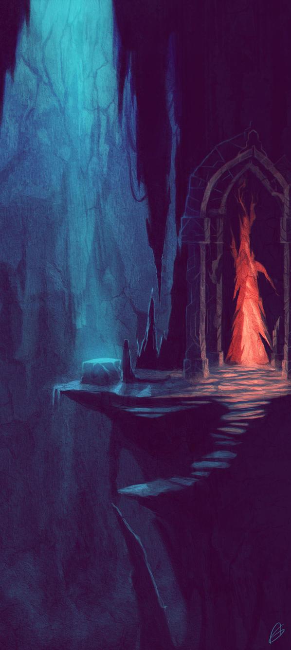 Hidden Shrine by Zeich