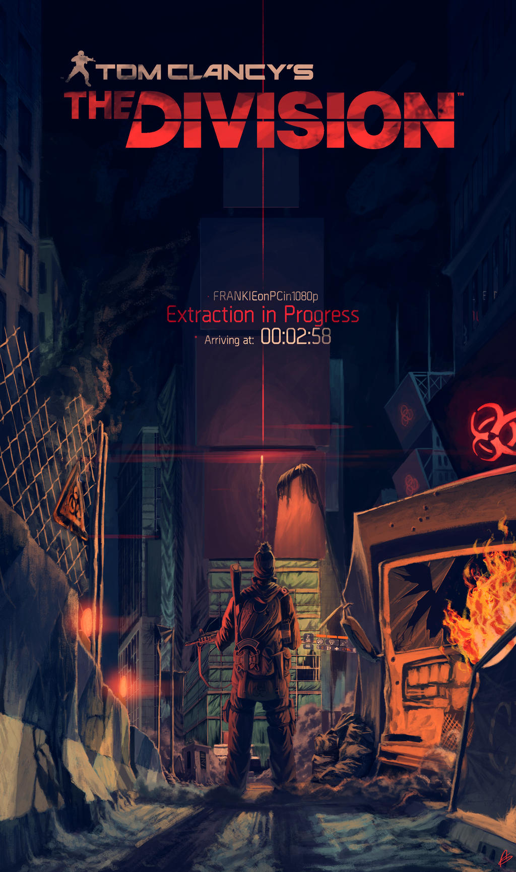 The Division Ft Frankie By Zeich On Deviantart
