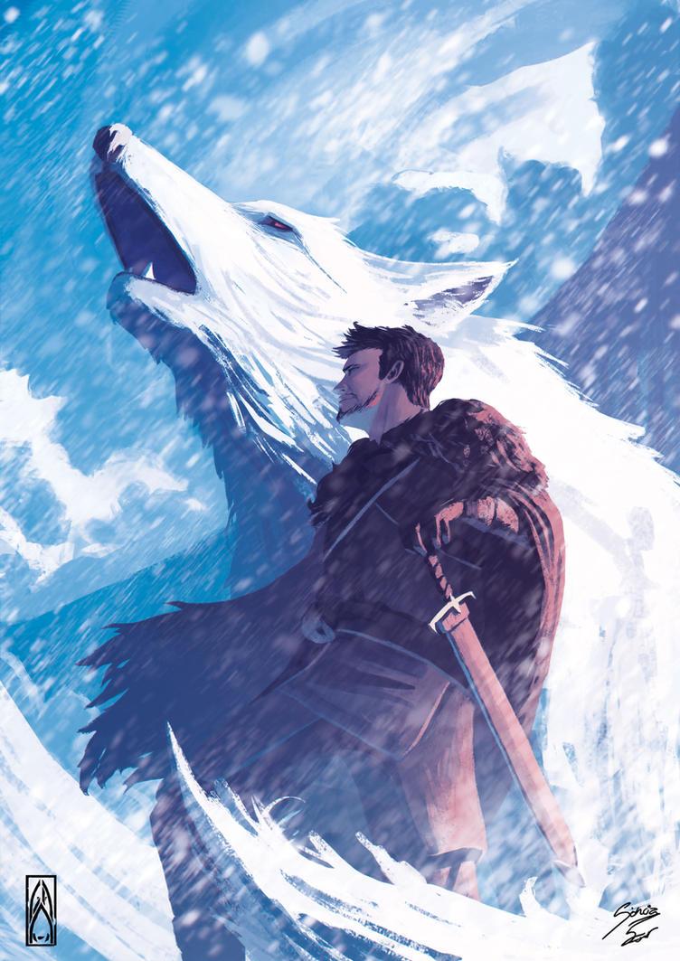 Jon Snow by Zeich