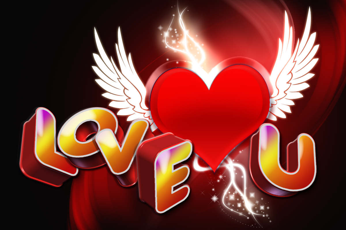 wallpaper 3d i love you - photo #8