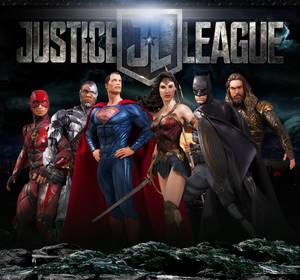 Justice League Logo 3D Movie Wallpaper Toys