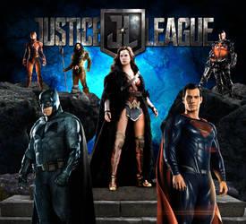 Justice League Movie Wallpaper - DC Comics 2017