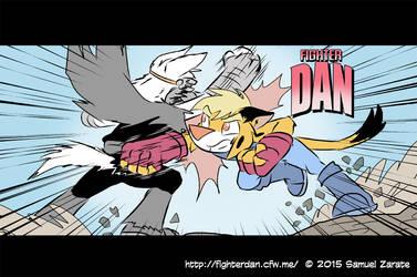 Fighter Dan Ad by Sam-ZG