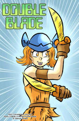 Liz from Double Blade by Sam-ZG