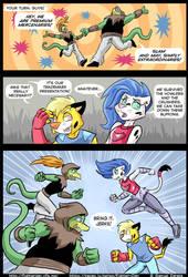 FighterDan comic: Goldheart. by Sam-ZG