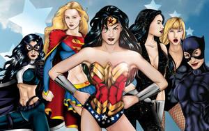 Women of DC Wallpaper