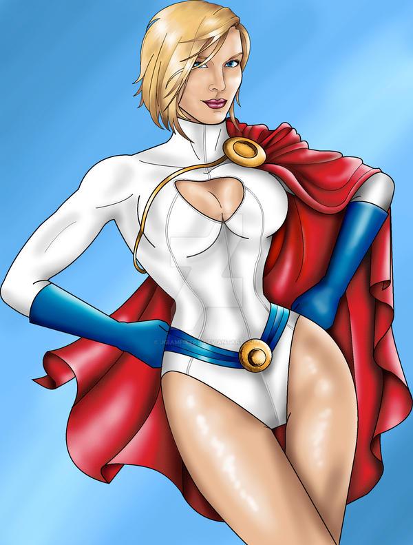 Power Girl by JGiampietro