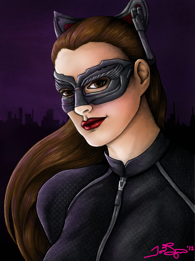 Catwoman - TDKR - Colored by JGiampietro