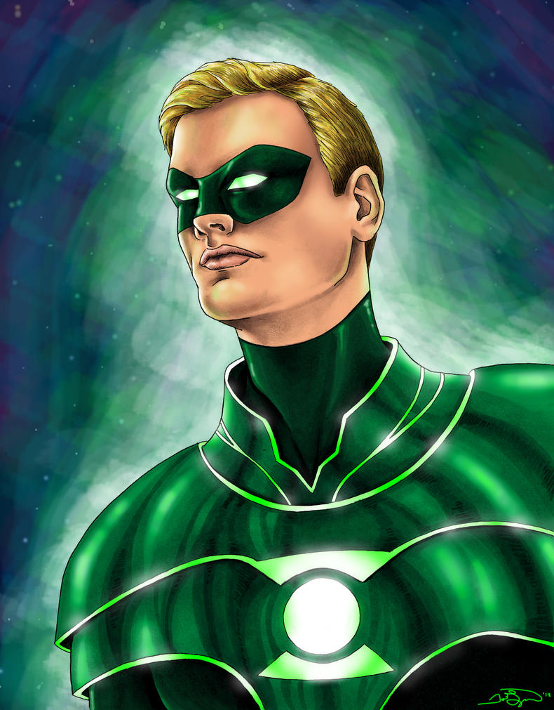 Alan Scott - Green Lantern - Colored by JGiampietro