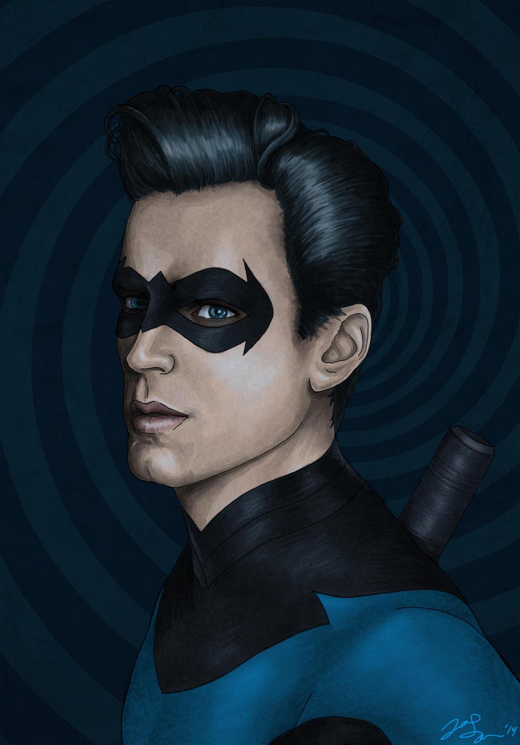 Grayson - Nightwing Variant by JGiampietro