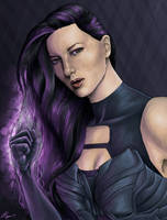 Psylocke - X-Men Apocalypse by JGiampietro