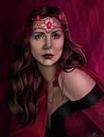 Scarlet Witch by JGiampietro