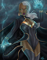 Storm. Mistress of the Elements. by JGiampietro