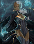Storm. Mistress of the Elements.