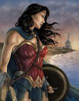 Wonder Woman - 75th Anniversary by JGiampietro