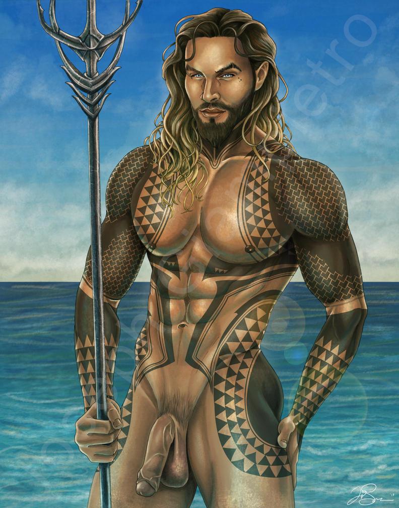 Aquaman Beefcake by JGiampietro